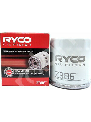 AU19.62 • Buy Ryco Oil Filter FOR TOYOTA COROLLA ZZE122 (Z386)