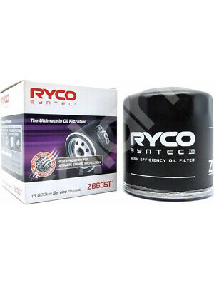 AU42 • Buy Ryco Syntec Oil Filter FOR SUZUKI GRAND VITARA JT (Z663ST)