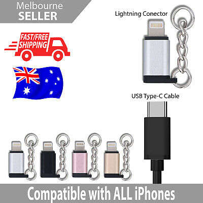 AU3.99 • Buy For IPhone USB Type C Female To Male  Converter Charger Data Adapter