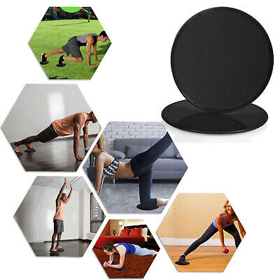 $23.74 • Buy Exercise Yoga Fitness Plates Discs Glide Slide Abdominal Slider 2Pcs Gloves Gym