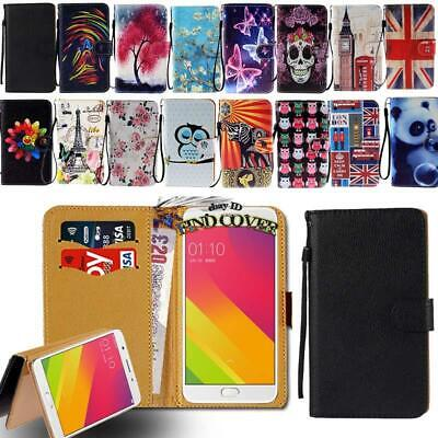 AU6.49 • Buy Leather Smart Stand Wallet Case Cover For Various OPPO F1 F3 F5 F7 SmartPhones