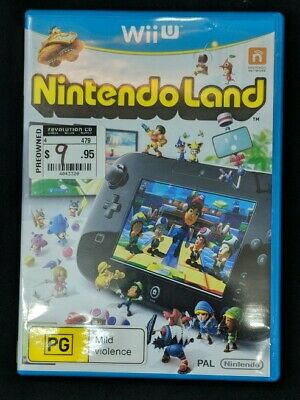 AU14.95 • Buy Nintendo Land Wii U Like New
