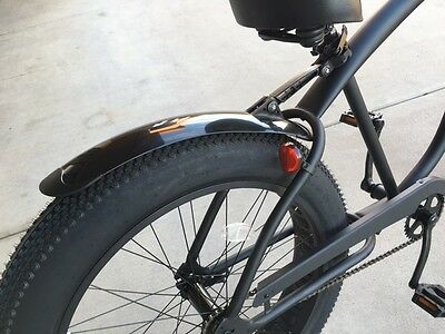$30.95 • Buy Fat Tire Cruiser Bicycle Fender Kit - Front And Rear