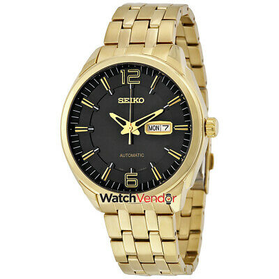 $ CDN219.99 • Buy Seiko Recraft Automatic Black Dial Yellow Gold-tone Men's Watch SNKN48