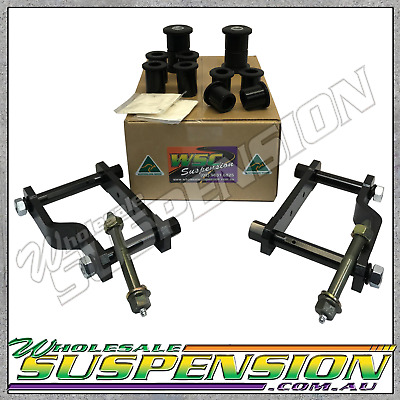 AU292.50 • Buy Rear End Extended Roadsafe HD Shackle Bush Upgrade Kit For TOYOTA HILUX N70