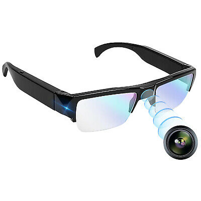 View Details Video Camera Glasses With Invisible Lens Full HD 1080p Video Sound DVR Recorder • 49.99£