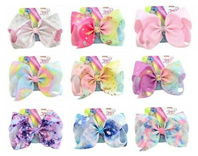 AU5.95 • Buy 8'' JoJo Siwa Large Hair Bow School Dance Hair Accessories Girls  Hair Bow