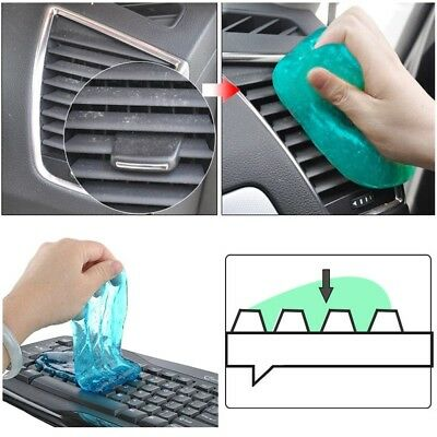 AU10 • Buy Magic Gel Soft Slime Cleaning Glue Flexible Slimy Sponge For Home Office Car