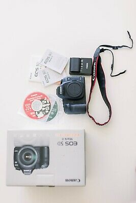 $ CDN1006.87 • Buy Canon EOS 5D Mark II 21.1MP Digital SLR Camera - Barely Used As A Back-up Camera