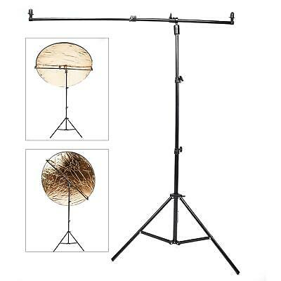£39.99 • Buy Reflector Holder Studio Light Stand Boom Arm Rotate Disc Grip Photo Photography