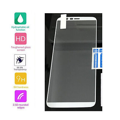 AU16.03 • Buy 3 × For OnePlus 5T White Full Edge Cover Tempered Glass Screen Protector Film