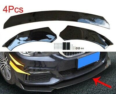 $ CDN52.63 • Buy Universal Front Bumper Lip Body Kit Spoiler For Honda Civi BMW Audi Benz Mazda