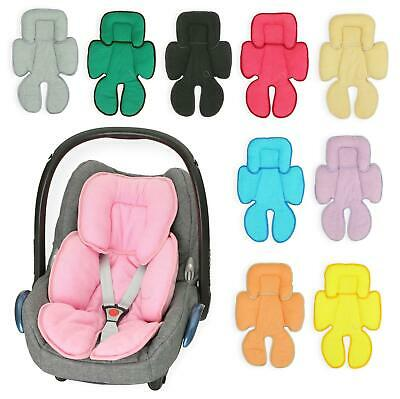 £14.99 • Buy Baby Head Hugger & Body Support Liner For Car Seat Pushchair Breathable COTTON