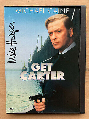 Get Carter UK DVD Hand-signed Autographed By Mike Hodges Region 1 Snapper Case • 34.50£