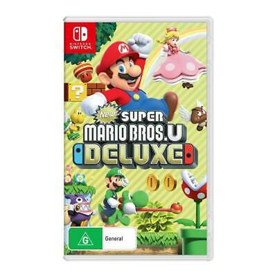 AU85.95 • Buy New Super Mario Bros U Deluxe (Nintendo Switch)
