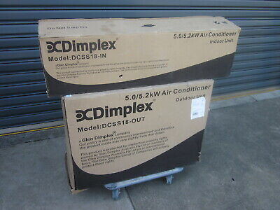 AU999.99 • Buy  NEW  DIMPLEX DCSS18 SPLIT SYSTEM 5.0 / 5.2kw AIR CONDITIONER