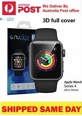 AU9.85 • Buy Nuglas 3D Full Cover Tempered Glass Screen Protector For Apple Watch Series 432