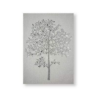 £34.99 • Buy Art For The Home Eternal Tree Metallic And Glitter Printed Canvas