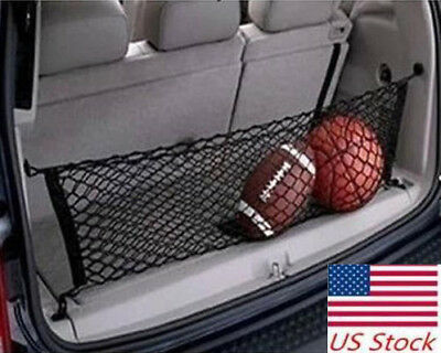 $19.99 • Buy Parts Accessories Car Trunk Cargo Net Envelope Style Universal