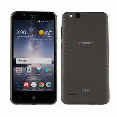 $22.99 • Buy ZTE Z839 Blade Vantage Prepaid Smart Phone LTE Verizon Cell Phone Black