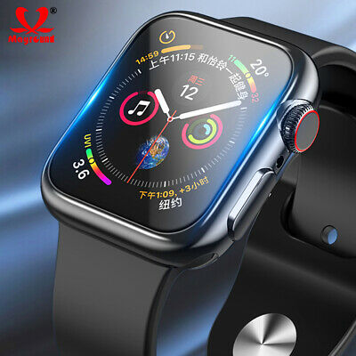 $ CDN5.33 • Buy For Apple Watch Series 4 3 2 1 360 Full Cover Case+9H Glass Screen Protector