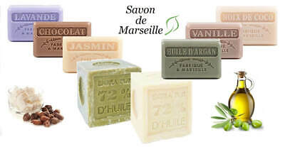 Traditional French Soap ~ Savon De Marseille ~ 125g ~ SLS & Paraben Free • 2.95£