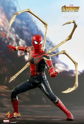 Avengers: Infinity War~iron Spider-man~sixth Scale Figure~mms482~hot Toys~mibs • 369.95$