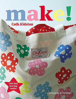 Make! Cath Kidston Craft Sewing Project Book Templates Paperback With Tote Bag • 6.99£