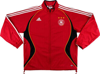 DEUTSCHLAND GERMANY 2006 World Cup Training Track Top ADIDAS 2004 Adult SIZE XL • 38.25£