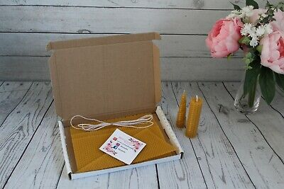 £7.90 • Buy Beeswax Candle Sheets, Starter Candle Kit For Kids, Candle Making Kit, Kids Fun
