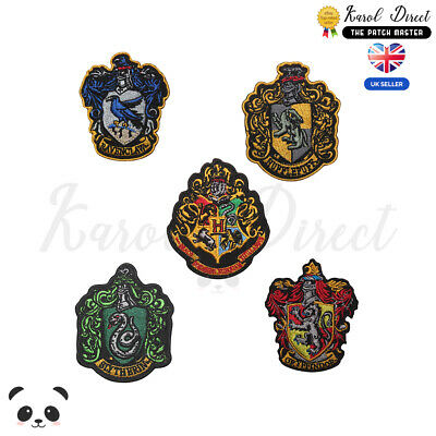 $ CDN3.66 • Buy Harry Potter Gryffindor,Ravenclaw,Hufflepuff Embroidered Sew/Iron On Patch Badge