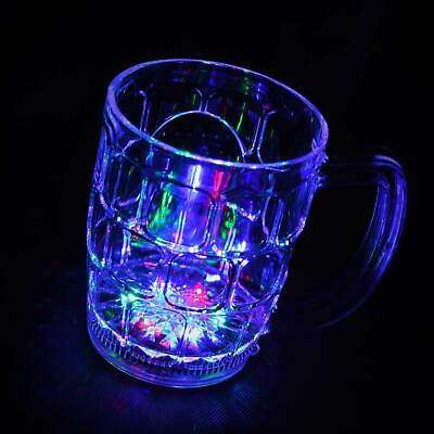 4 LED Flashing Light Up Drink Beer Water Cups Glasses Wedding Hen Stag Party Bar • 10.49£