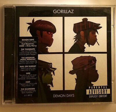 Gorillaz - Demon Days (Parental Advisory, 2005) • 2.95£