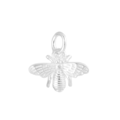 £8 • Buy Sterling Silver 3D Bumble Bee Insect Necklace Bracelet Charm Pendant A