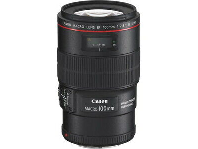 AU2099.48 • Buy CANON EF100mm F2.8L Macro IS USM Lens Japan Ver. New / FREE-SHIPPING
