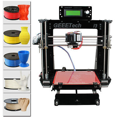 AU215 • Buy Geeetech Reprap Prusa I3 Pro B 3D Printer MK8 Print 5 Materials Shipped From AU