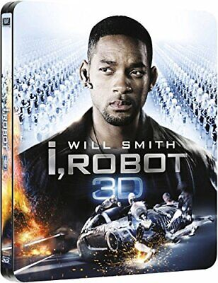 I Robot (limited Edition Steelbook) [bluray 3d] New & Sealed • 19.95£