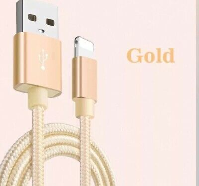 AU9.95 • Buy 3m Braided USB Lightning Cable Cord Data For Apple Charger IPhone X 8 7 5 6