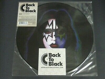 Kiss Ace Frehley Lp Picture Disc Back To Black 2010 Edition - New • 19.99£