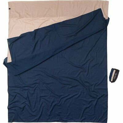 £44.99 • Buy Cocoon Double Travel Sheet Or Double Sleeping Bag Liner - 100% Egyptian Cotton