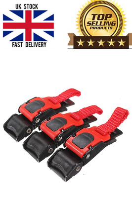 £6.50 • Buy 3x-Plastic-Motorcycle-Helmet-Clip-Chin-Strap-Quick-Release-Buckle-Autocycle