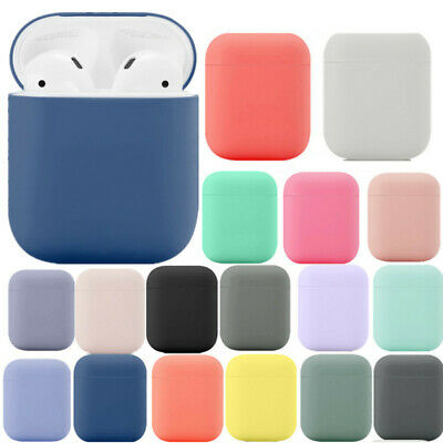 $ CDN1.56 • Buy For Apple Airpods 1st Wireless 2nd Soft Rubber Ultra Slim Charging Case Cover