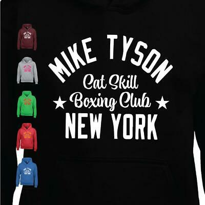 Mike Tyson Catskill Brooklyn Boxing Mens Hoodie Pullover MMA New Gym Club Gloves • 16.49£