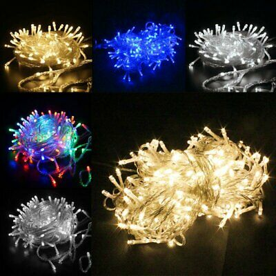 $17.99 • Buy 100-1000LED Christmas Fairy String Lights Indoor Outdoor Xmas Party Decor Light