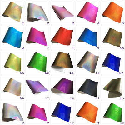 Glitter Vinyl Sheets * Smooth Laminated Feel * A4 A5  Bows Crafts Code # 305 • 1.69£