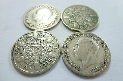 £2.99 • Buy King George V Sixpence 1918,1920,1921,1922,1923,1927, 1929-select Your Year/coin