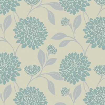 £29 • Buy Bloom Aloe (Floral) Made To Measure Dim Out Roller Blind - Complete Blind