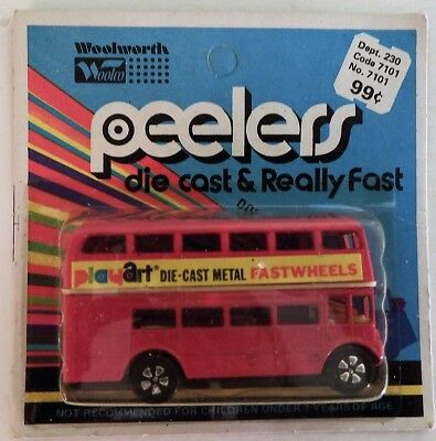 $ CDN29.99 • Buy Vintage 1970's PlayArt DOUBLE DECKER BUS! Hong Kong! Unpunched CANADA CARD! MOC!