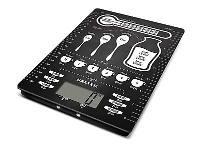 Salter's Conversions Digital Kitchen Scales – Electronic Food Weighing Scale For • 23.07£
