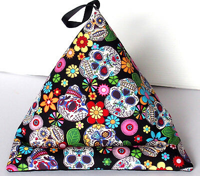 AU17.95 • Buy SKULL FLOWER Lap Rest Pillow Holder Stand Cushion Kindle Book Phone IPad Tablet